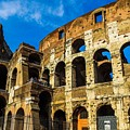 Colosseum In Rome Italy by Marilyn Burton