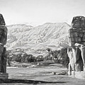 Colossi Of Memnon 2 by Roy Pedersen