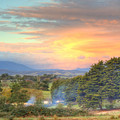 Colourful Clouds At Sunset Yarra Glen 09-05-2015 by Bert Ernie
