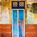 Colourful Door by Dave Bowman