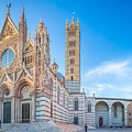 Colourful Siena Cathedral by JR Photography