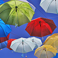 Colourful Umbrellas by Lee Webb