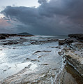 Colours Of A Storm - Seascape by Merrillie Redden