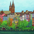 Basel, Colours Of Basel by Lisa Lorenz