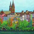 Colours Of Basel, Switzerland by Lisa Lorenz