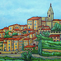Colours Of Crillon-le-brave, Provence by Lisa Lorenz