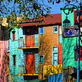 Colours Of La Boca by Hans Wolfgang Muller Leg