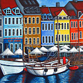 Colours Of Nyhavn by Lisa  Lorenz