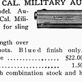 Colt .45 Automatic Pistol by Granger