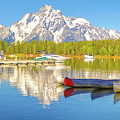 Colter Bay Grand Tetons by Dan Sproul