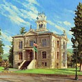 Columbia County Courthouse by Steve Henderson