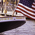 Columbia From The Stern by Joe Geraci
