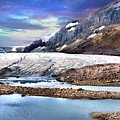 Columbia Ice Field And Athabaska Glacier by Ken McMullen