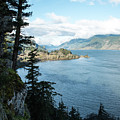 Columbia River Cliffside by Tom Cochran