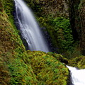 Columbia River Gorge Falls 1 by Marty Koch
