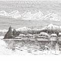 Columbia River Raft Up by Jack Pumphrey