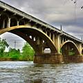 Columbia S C Gervais Street Bridge by Lisa Wooten