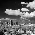 Columbia Skyline - I R Bw by Charles Hite