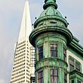 Columbus Avenue - San Francisco, California by Melanie Alexandra Price