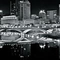 Columbus Ohio Black And White by Frozen in Time Fine Art Photography