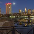 Columbus Ohio Nightscape by Scott McGuire
