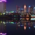 Columbus Ohio Reflecting Nicely by Frozen in Time Fine Art Photography