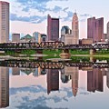 Columbus Ohio Reflects by Frozen in Time Fine Art Photography
