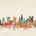 Columbus Ohio Skyline by Bri Buckley