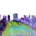 Columbus Skyline 3 by Erzebet S