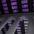 Column Stain Purple by Jost Houk