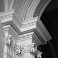 Columns At Hermitage by Donna Corless