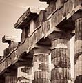 Columns Closeup by Songquan Deng