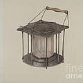 Combined Stove And Lantern by Lester Kausch