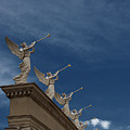 Come Blow Your Horn - Angels And Trumpets - Caesars Palace Las Vegas by Mitch Spence
