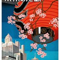 Come To Tokyo, Japan 1930's Travel Poster by Retro Graphics