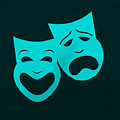 Comedy N Tragedy Aquamarine by Rob Hans