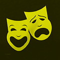 Comedy N Tragedy Yellow by Rob Hans