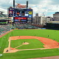 Comerica Park, Home Of The Detroit Tigers by James Kirkikis