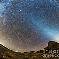 Comet Lovejoy And Zodiacal Light by Alan Dyer