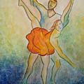 Comic Ballet by Donna Blackhall