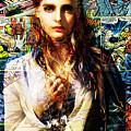 Comic Girl by Maciej Mackiewicz