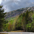 Comin Around The Bend In Campton New Hampshire by Nancy Griswold