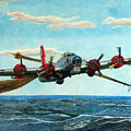 Coming Home - Boeing B-17 Flying Fortress V2 by Martin Hall