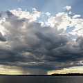 Coming Storm, Casco Bay, Maine  #130195 by John Bald