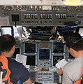 Commander And Pilot Look by Stocktrek Images