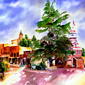 Commercial Street, Old Town Auburn by Joan Chlarson