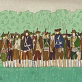 Committeemen On The Green by Robert Boyette