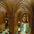 Commons Room Cathedral Of Learning - University Of Pittsburgh by Amy Cicconi