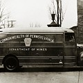 Commonwealth Of Pennsylvania  Coal Mine Rescue Truck 1947 by Arthur Miller
