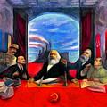 Communist Last Supper by Leonardo Digenio